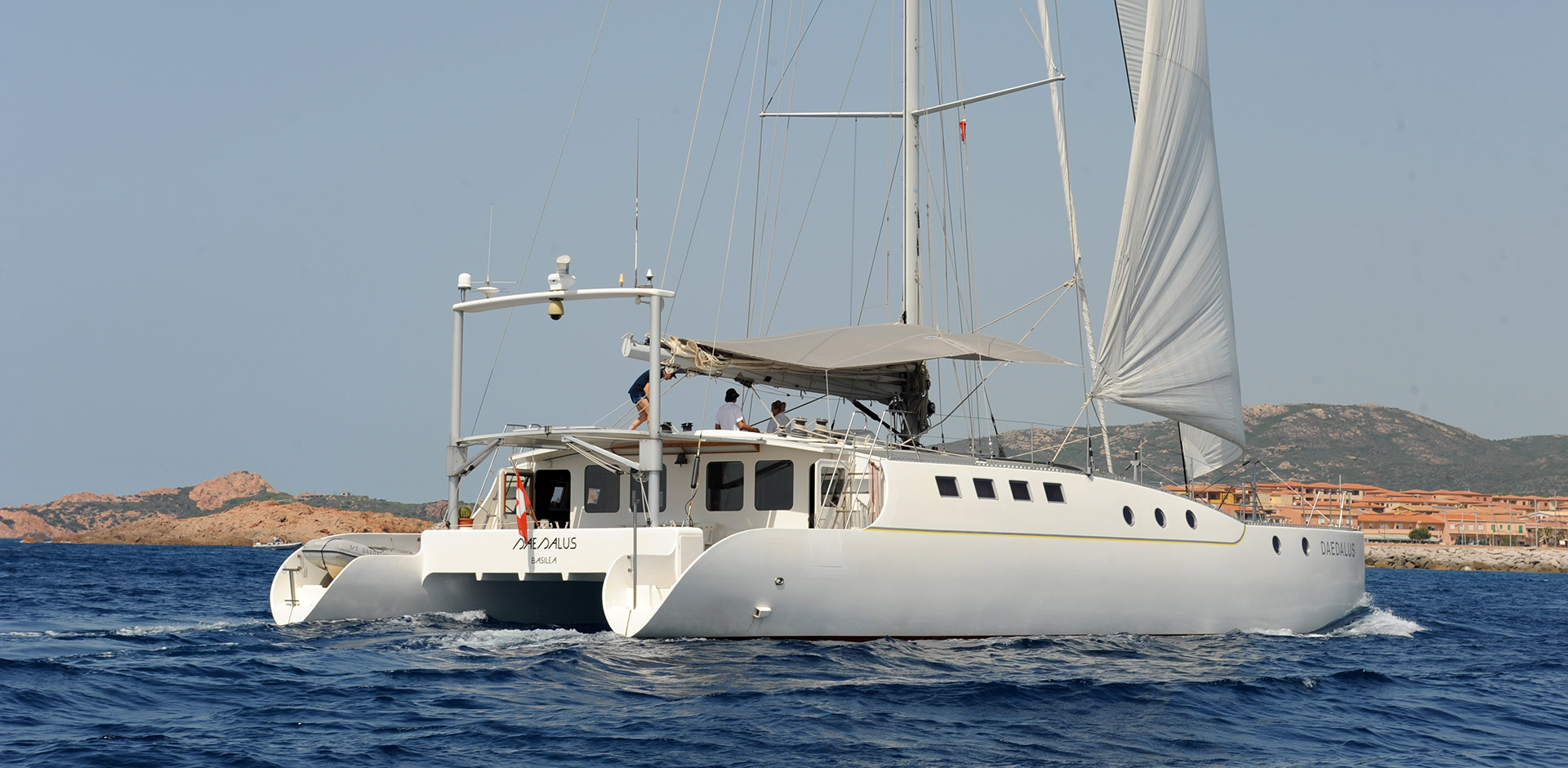 catamarano Daedalus di Guido Gay