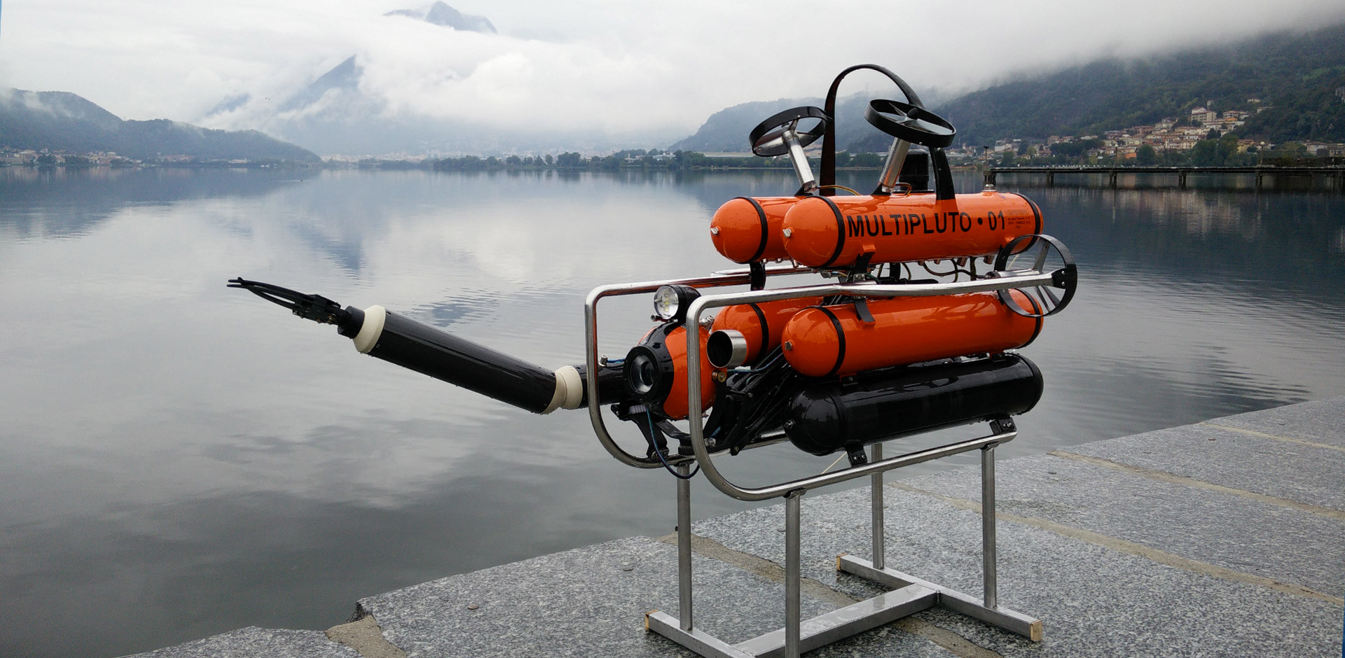 Multipluto deep sea portable ROV